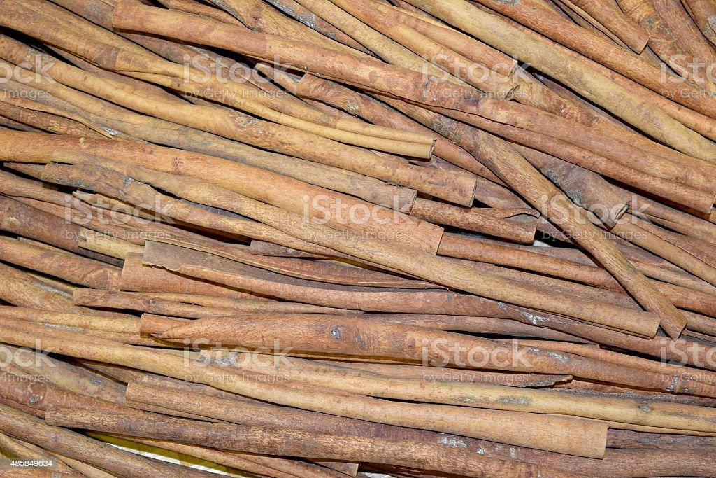 Cinnamon (cinnamon) stock photo