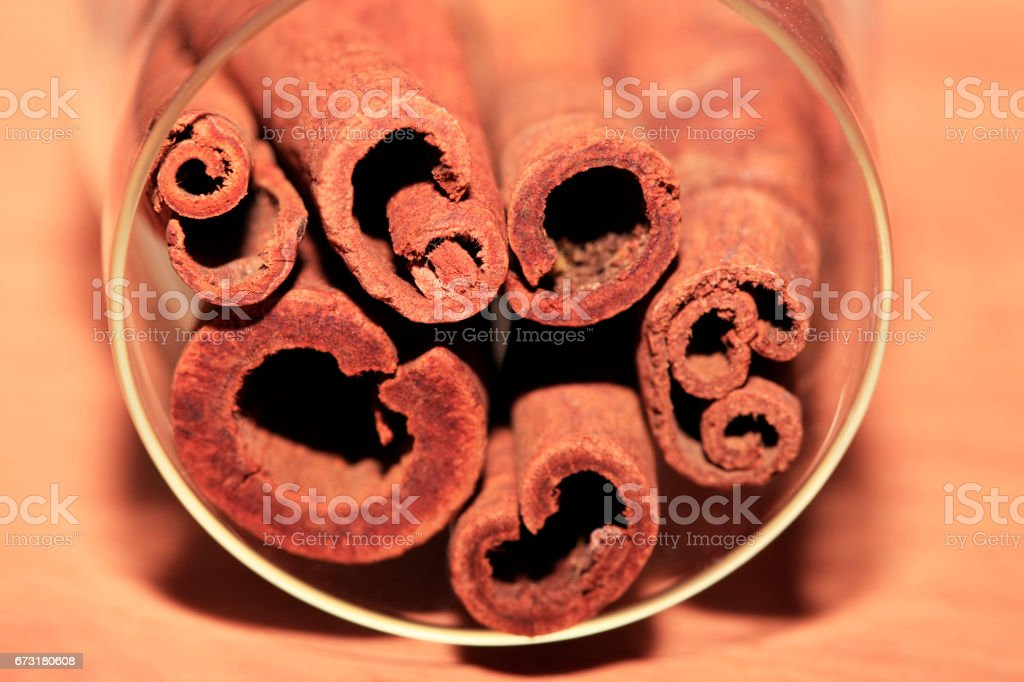 Cinnamon stock photo