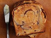 Cinnamon Raisin Bread Toast