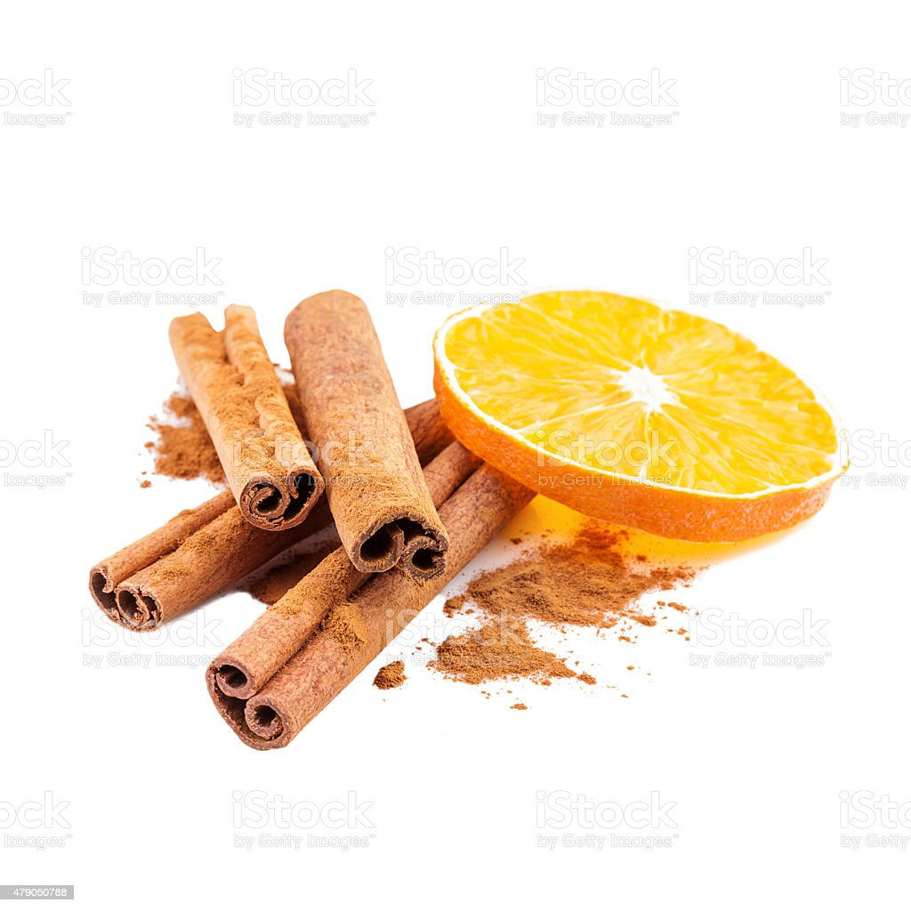 Cinnamon Spice Christmas Decoration stock photo