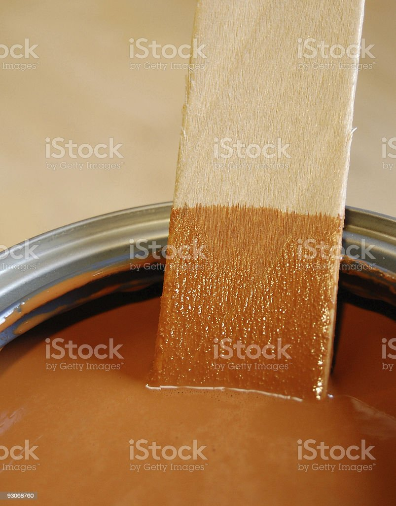 Cinnamon Stain royalty-free stock photo