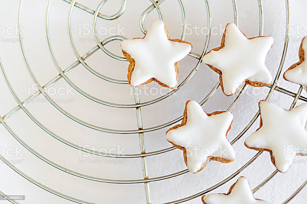 Cinnamon Stars stock photo
