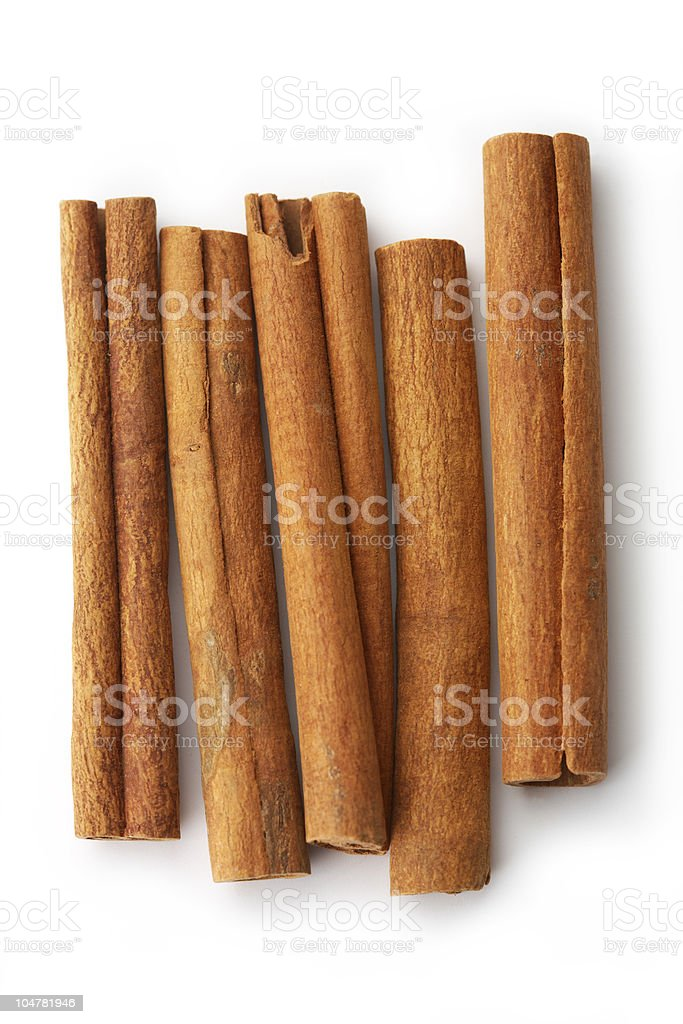 Cinnamon Sticks. royalty-free stock photo