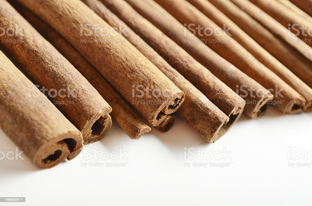 Cinnamon Sticks (Click for more) royalty-free stock photo