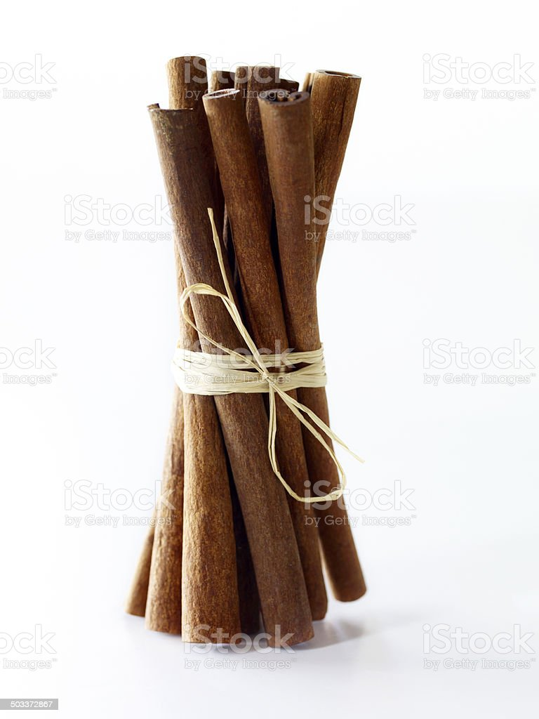 Cinnamon Sticks stock photo