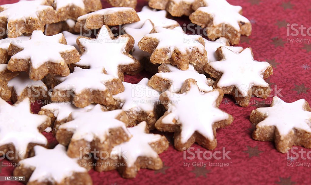 cinnamonn biscuit stock photo