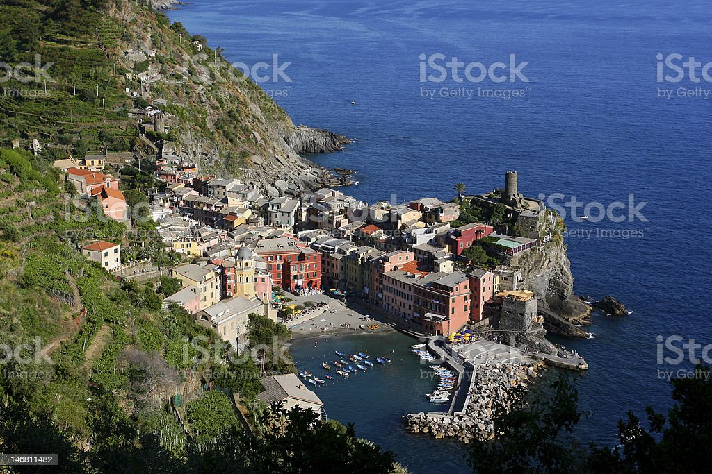 Cinque Terre in Italy royalty-free stock photo