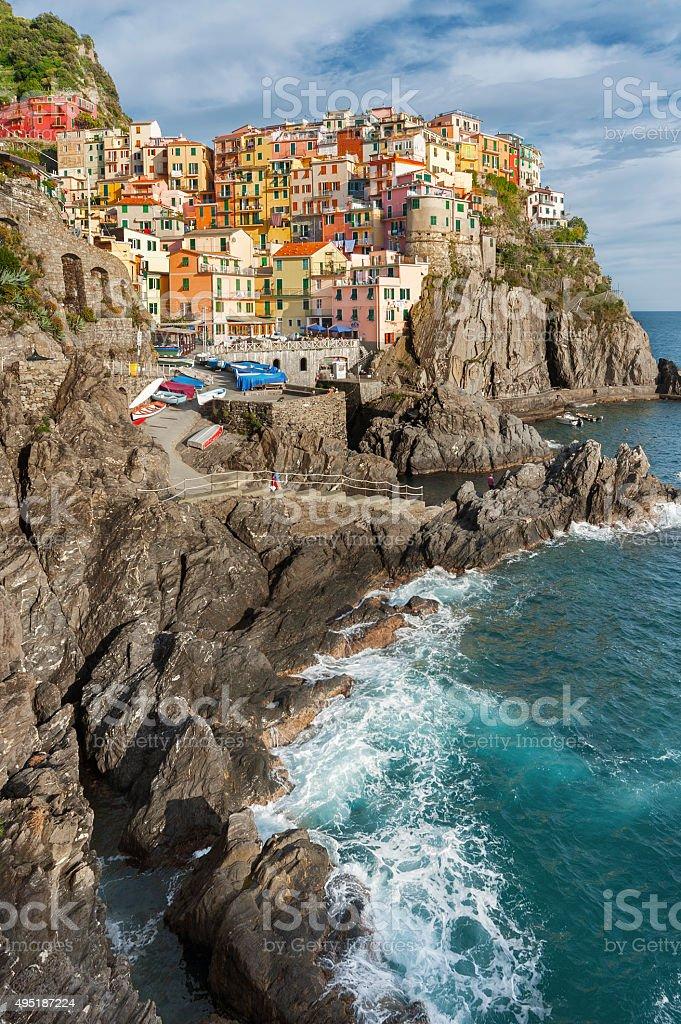 Cinque Terre, Italy stock photo