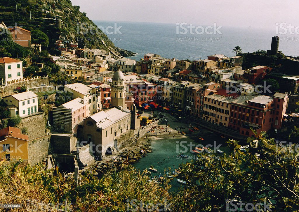 Cinque Terre, Italy. stock photo