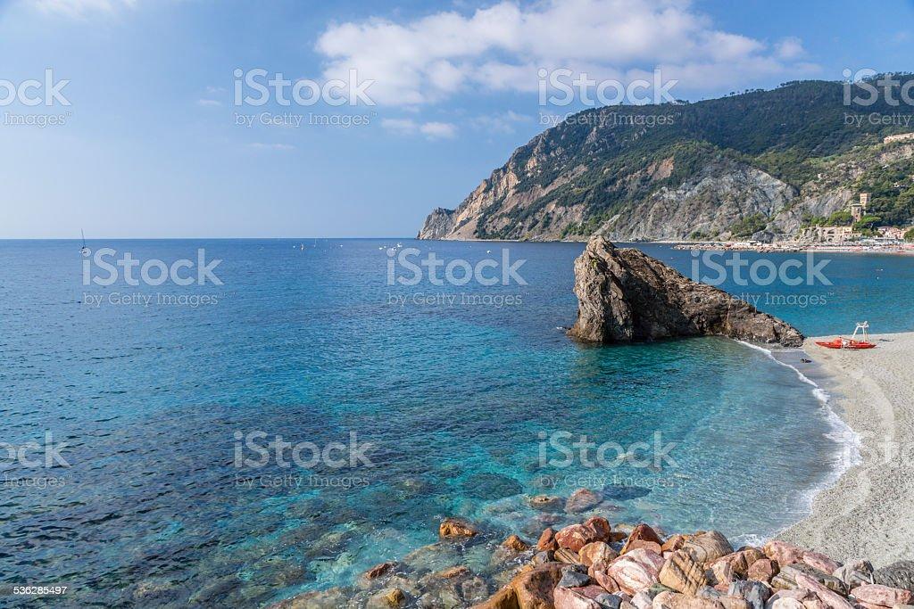 Cinque Terre, Monterosso al Mare stock photo