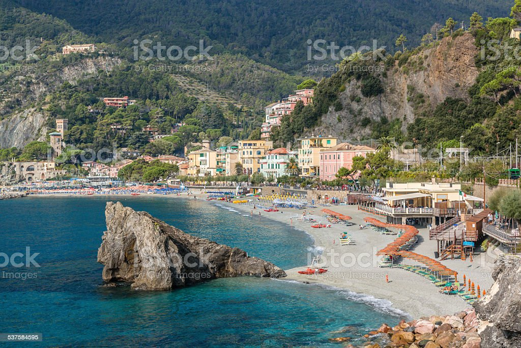 Cinque Terre, Monterosso al Mare stock photo