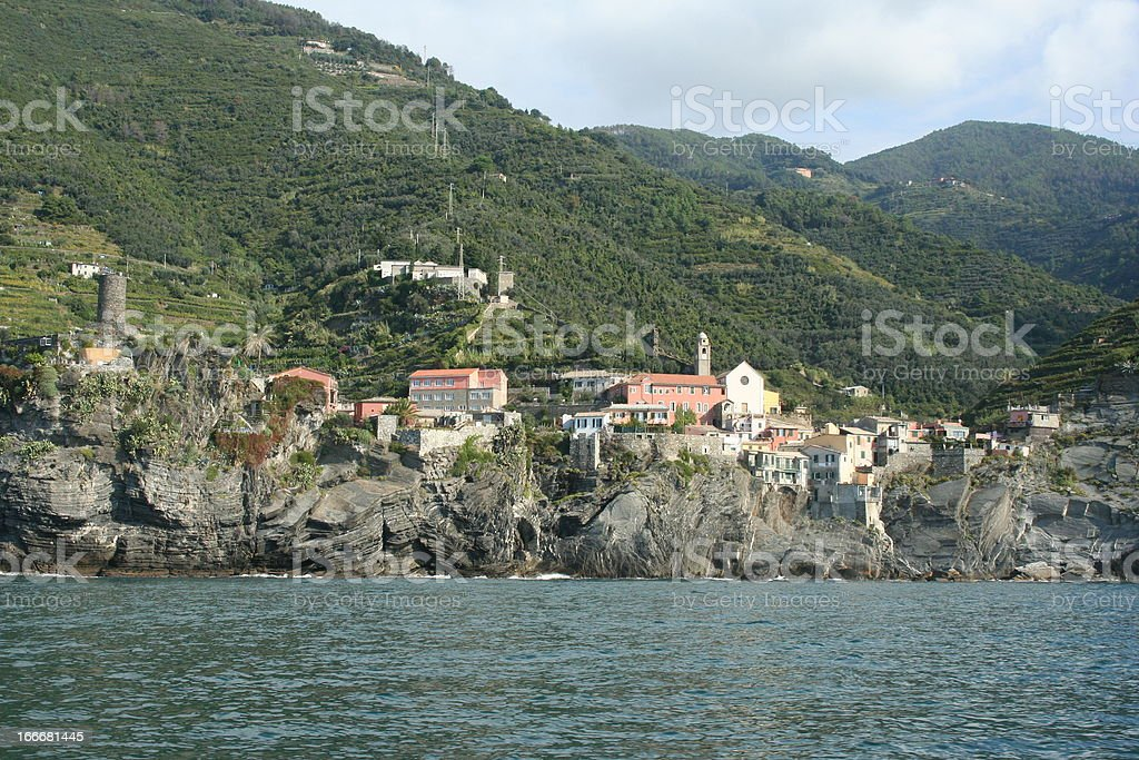 Cinque Terre royalty-free stock photo