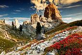 Cinque Torri di Averau, Dolomiti Ampezzane