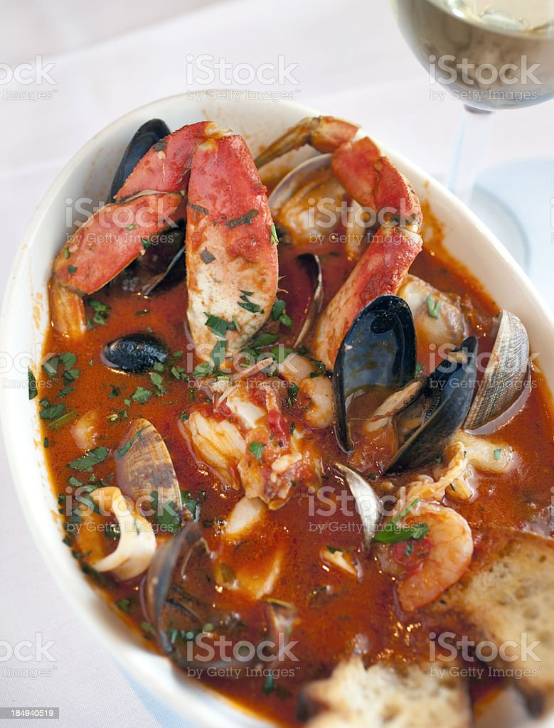 Cioppino stock photo