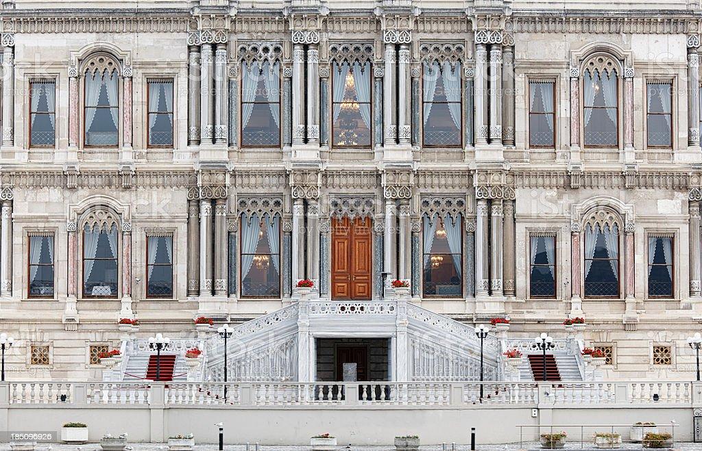 Ciragan Palace / Istanbul Turkey royalty-free stock photo