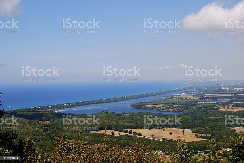Circeo National Park royalty-free stock photo