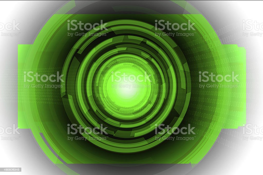 circle abstract digital speakers stock photo