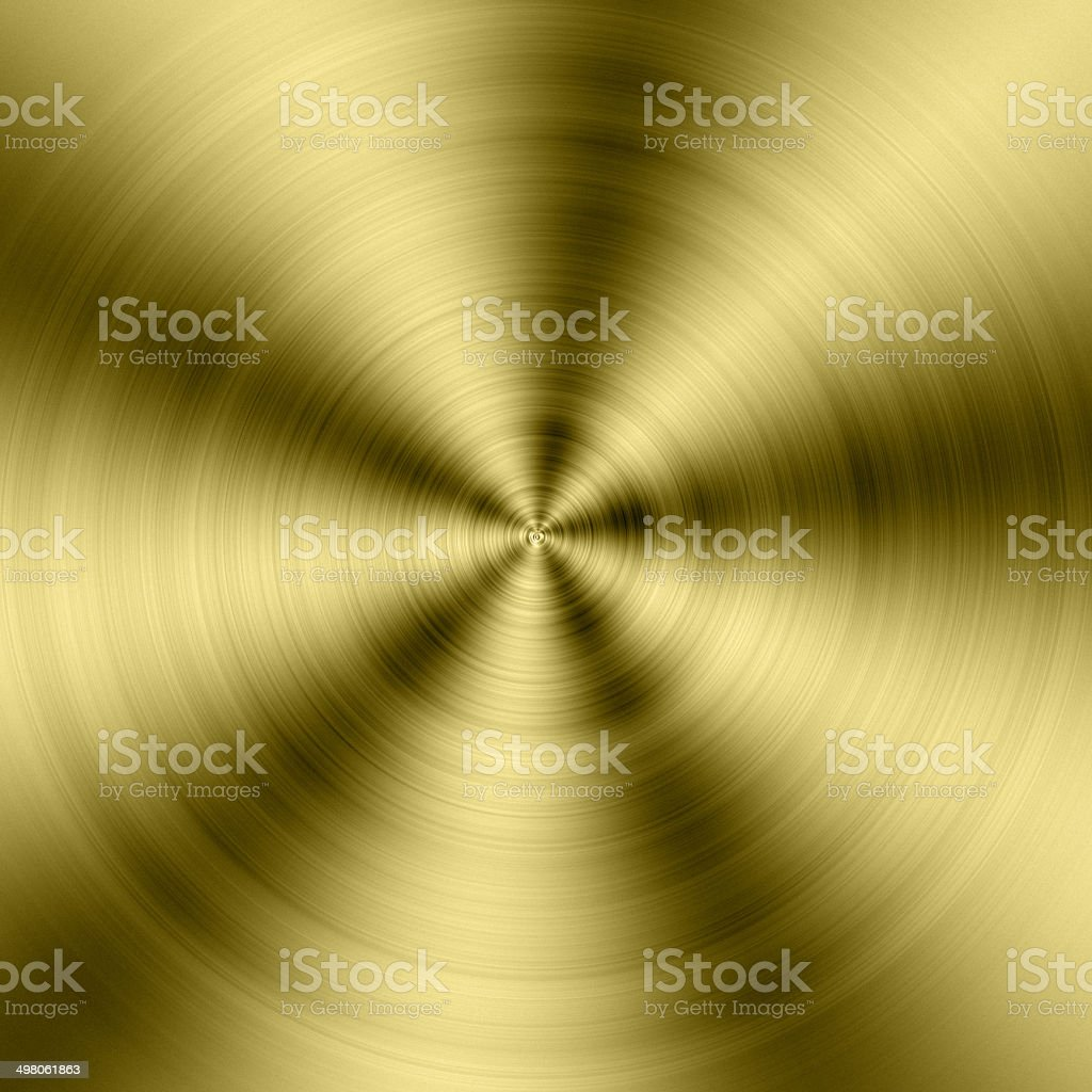 circle gold metal texture stock photo