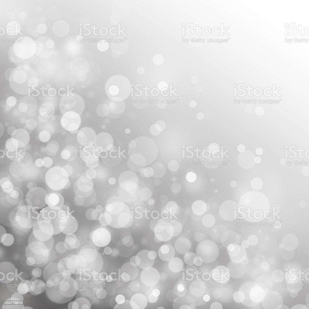 Circle light on gray background stock photo