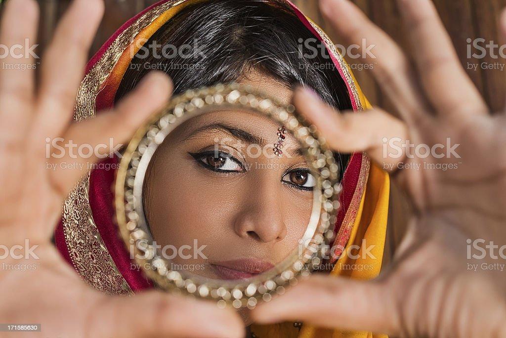Circle of beauty royalty-free stock photo