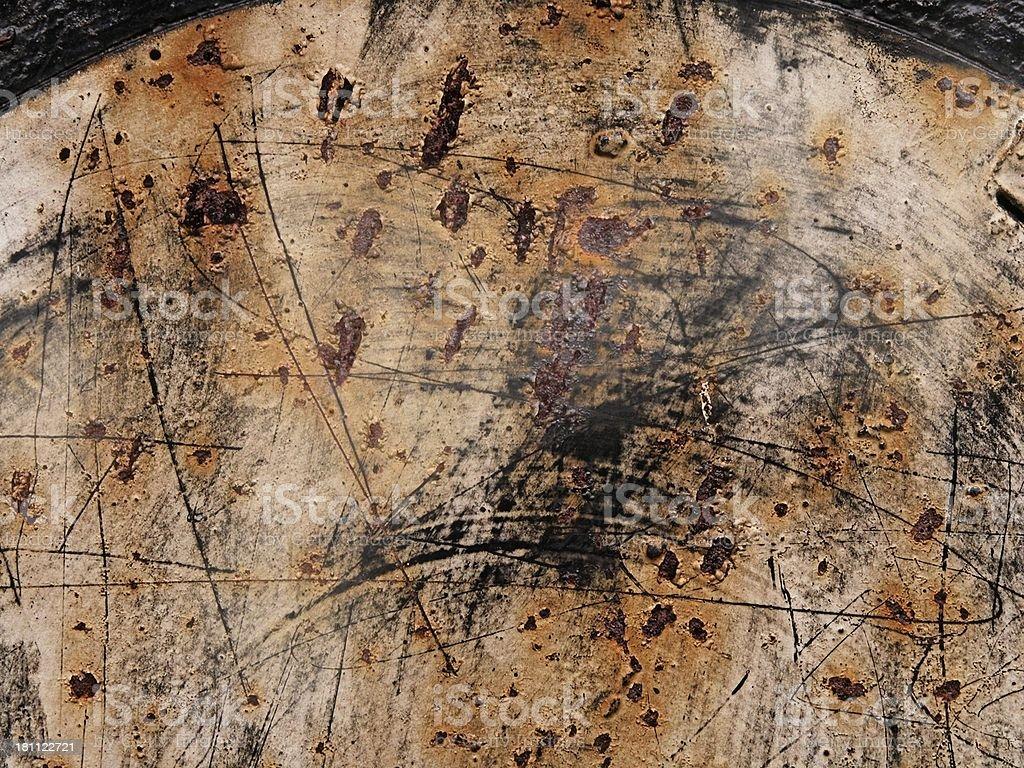 circle of rust royalty-free stock photo