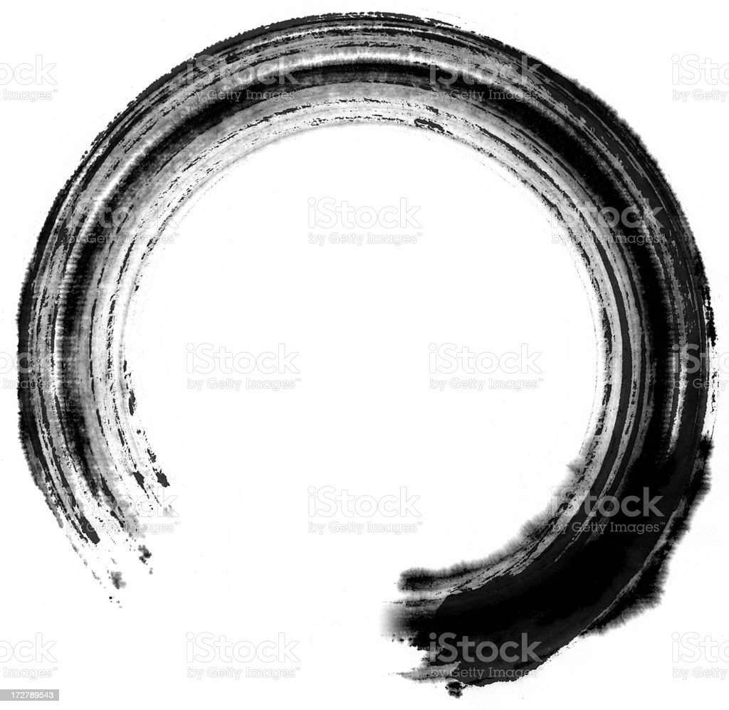 Circle Painting stock photo