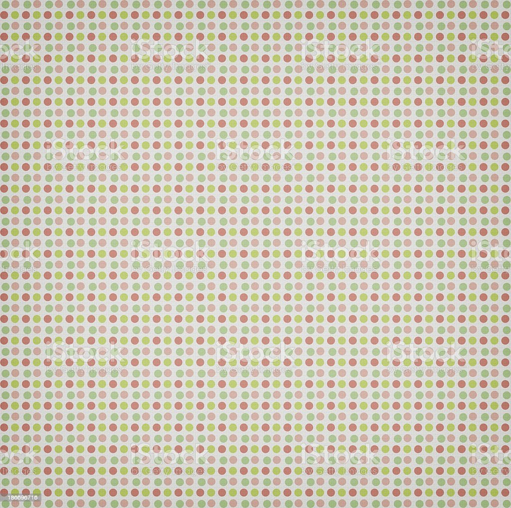 Circle Patterned Textile royalty-free stock photo