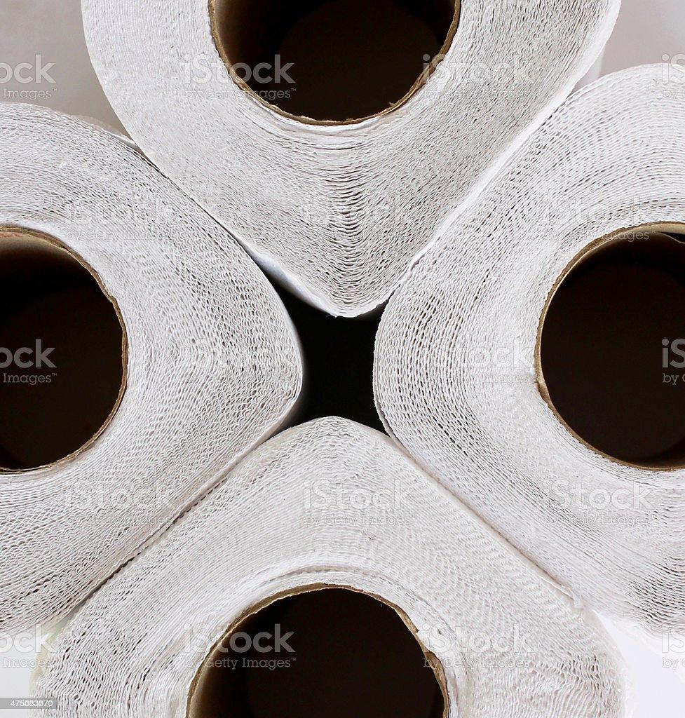 circle white paper royalty-free stock photo