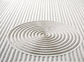 Circles and Lines in Sand