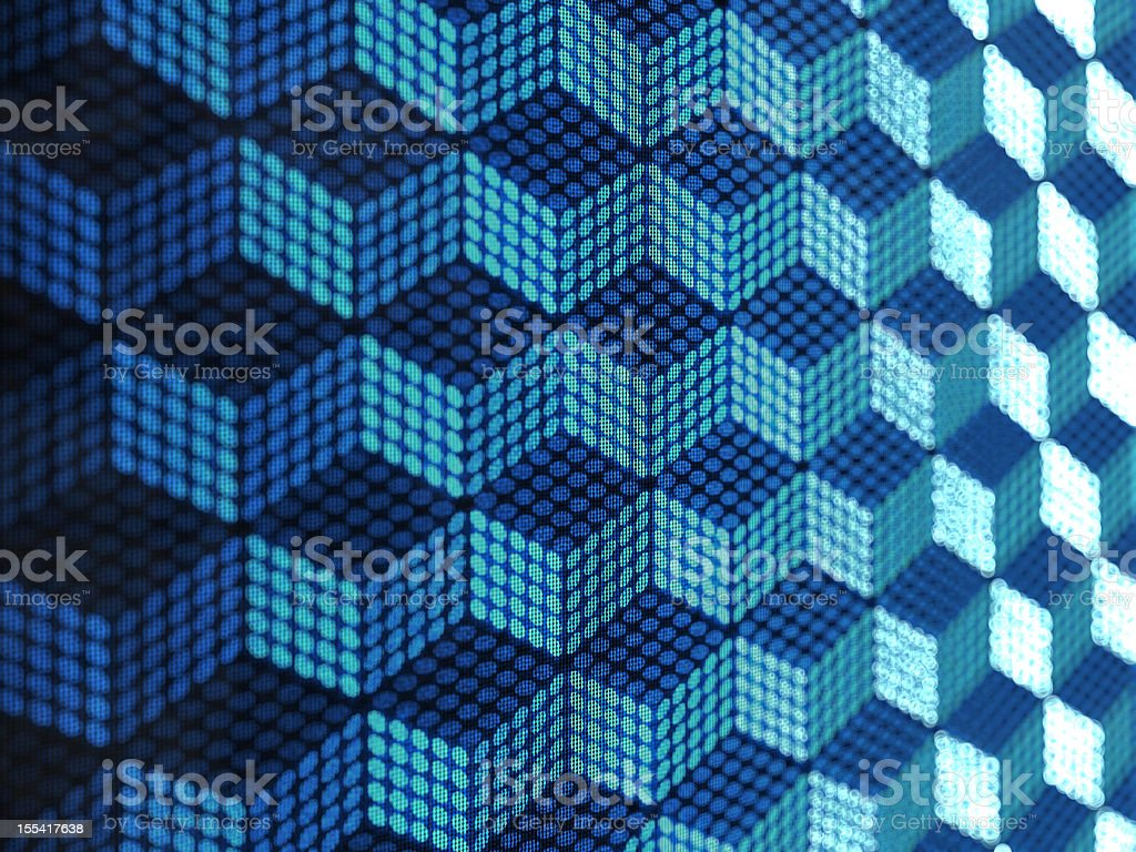 circles grid royalty-free stock photo