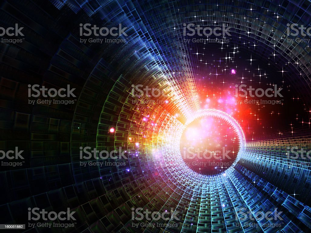 Circles of Light royalty-free stock photo