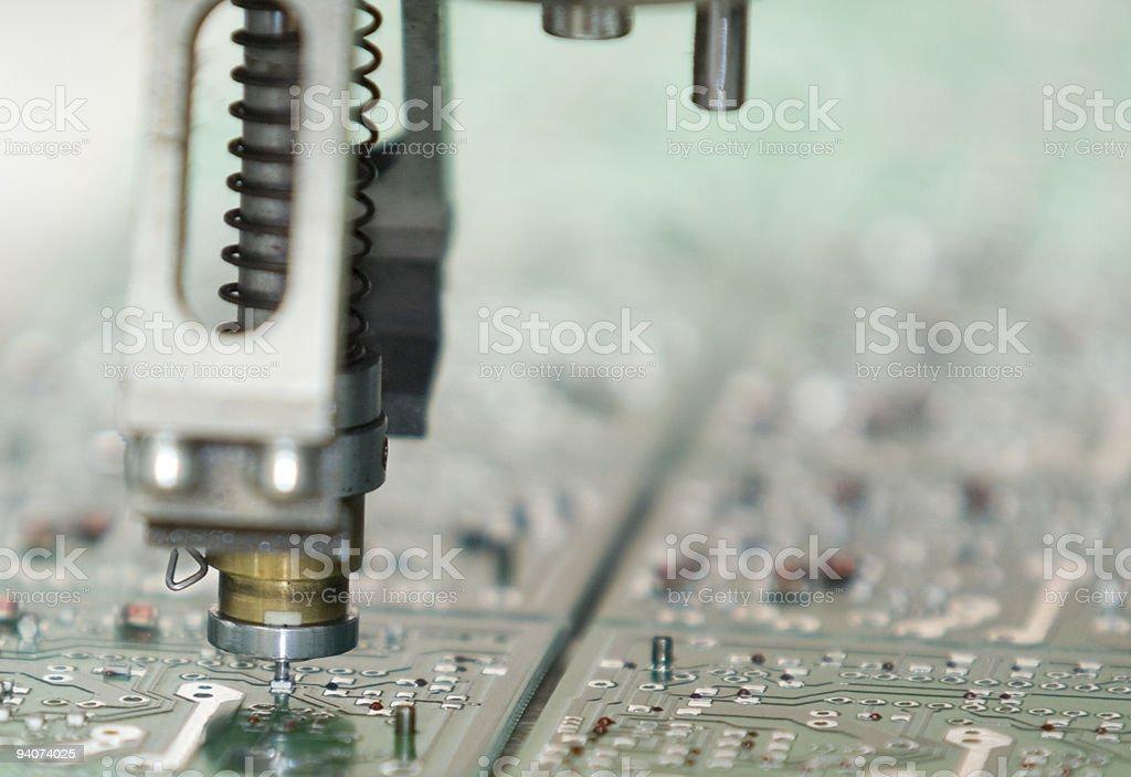 Circuit Boar stock photo