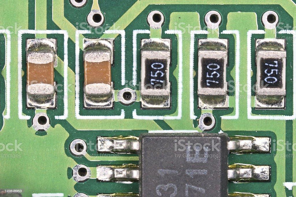circuit board 1 stock photo