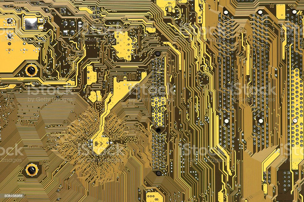 Circuit board pattern stock photo