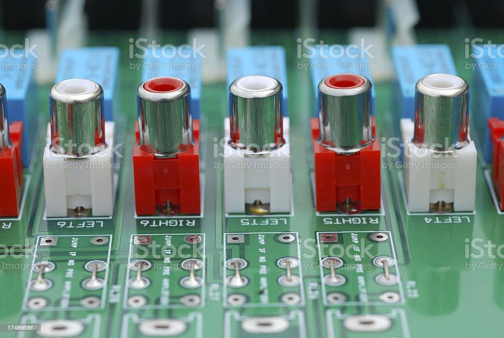 Circuit Board. royalty-free stock photo