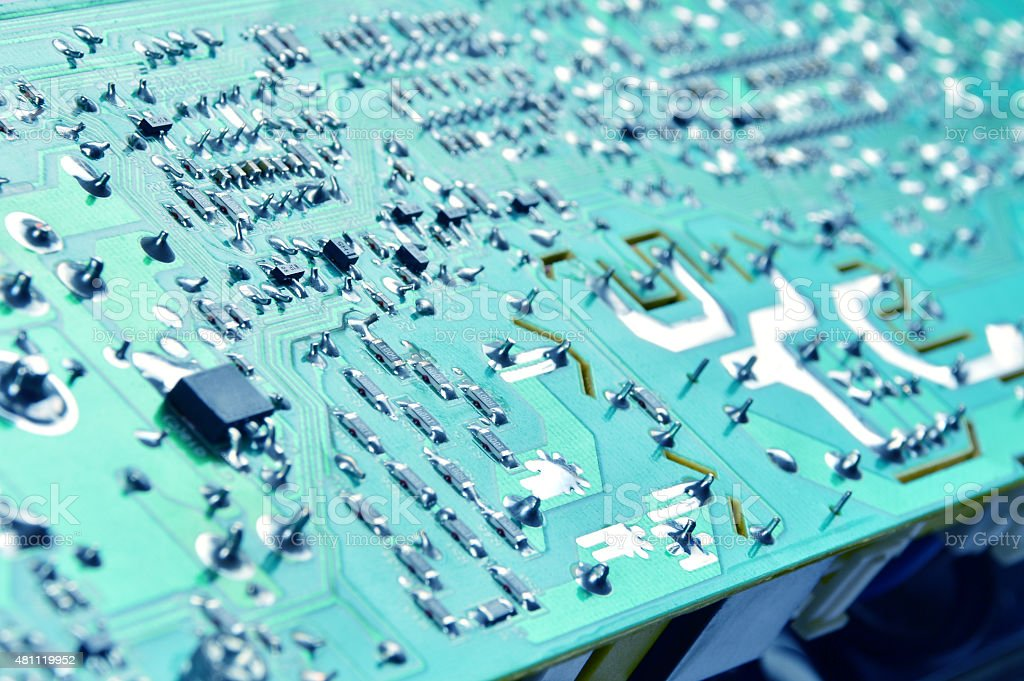 Circuit Board (Click for more) stock photo