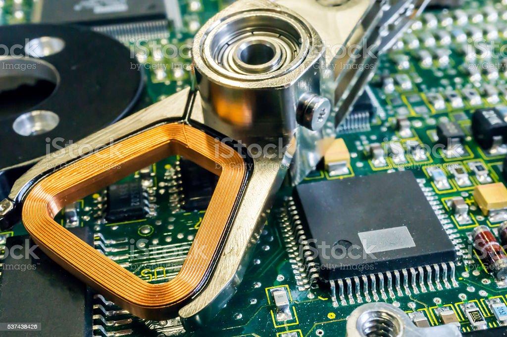 Circuit Board stock photo