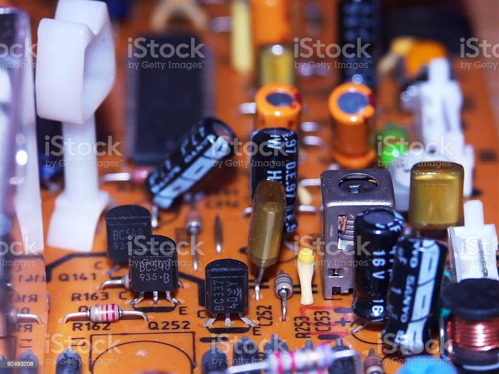 circuit board royalty-free stock photo