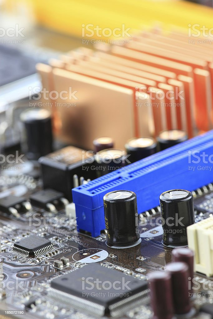 Circuit Board - Space royalty-free stock photo