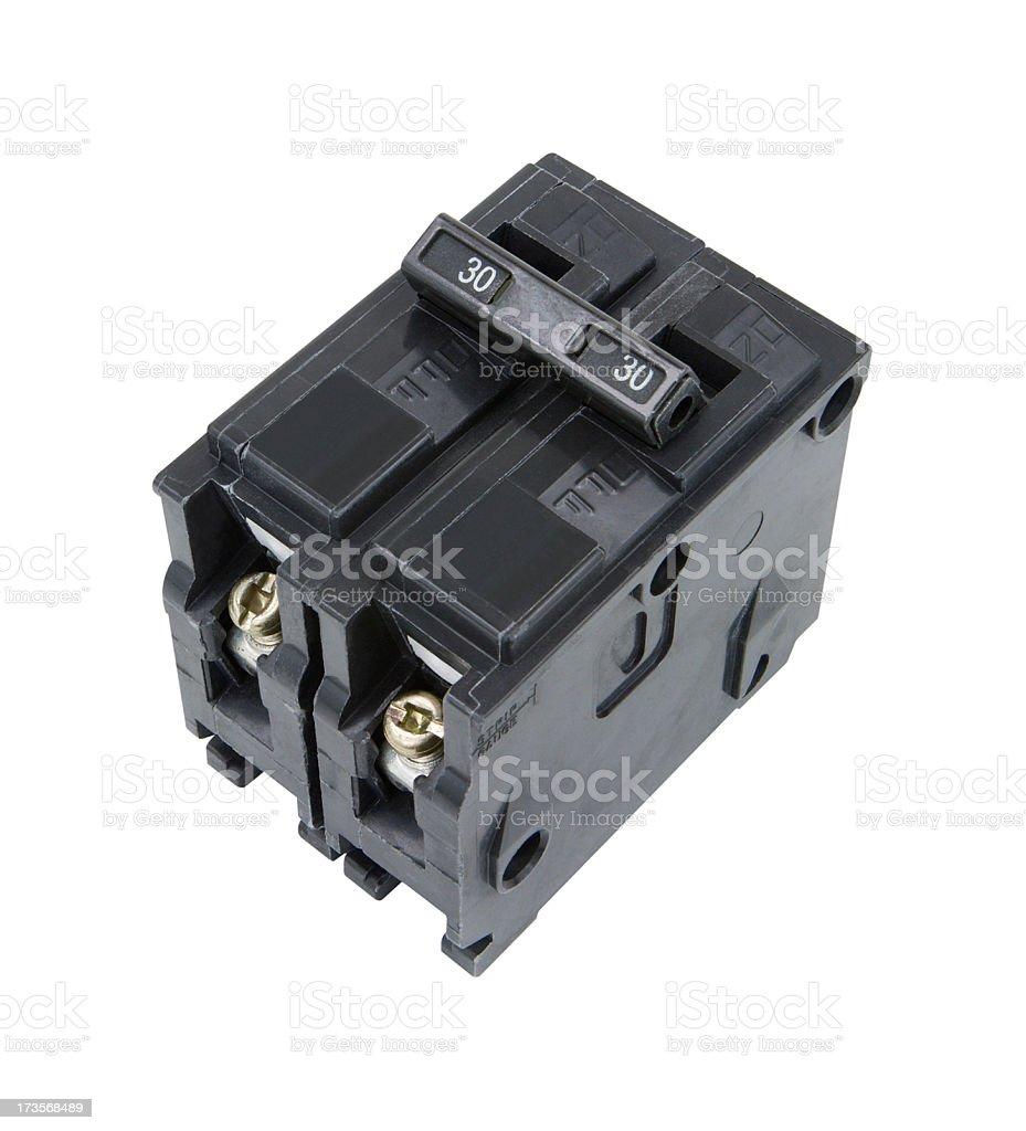 Circuit Breaker royalty-free stock photo