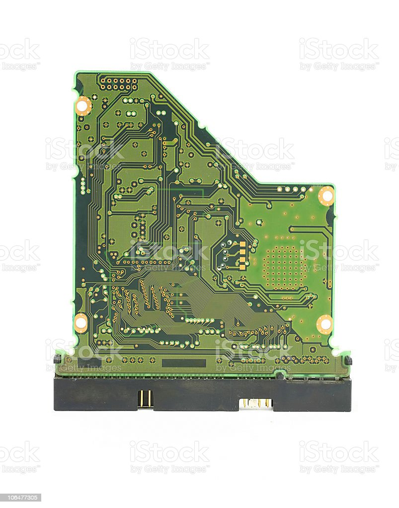 Circuit card stock photo