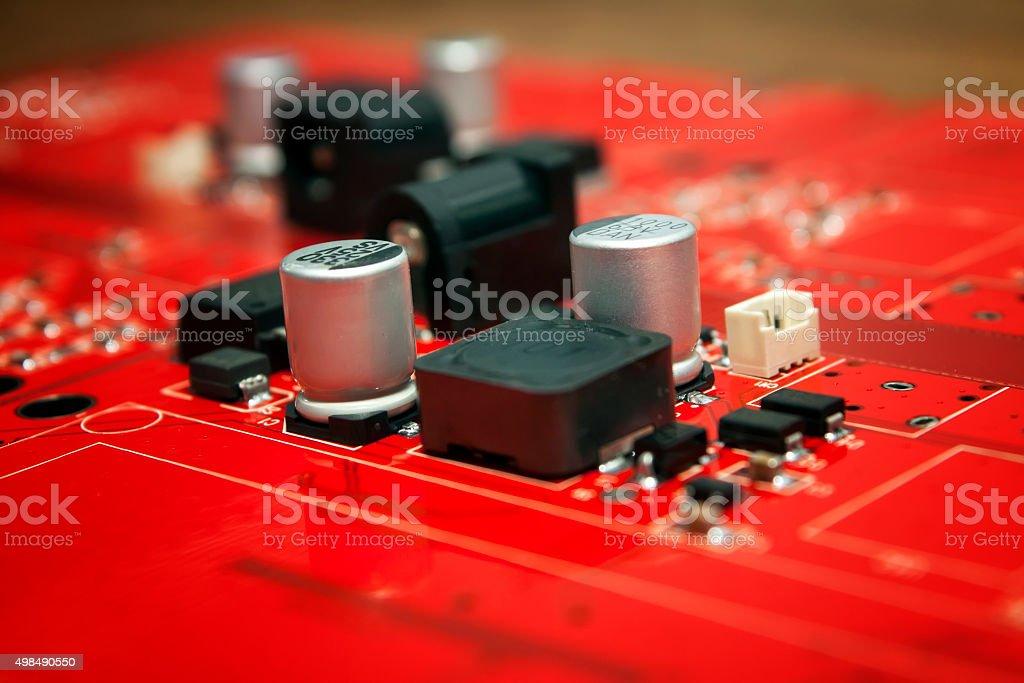 Circuit Electronic Board stock photo