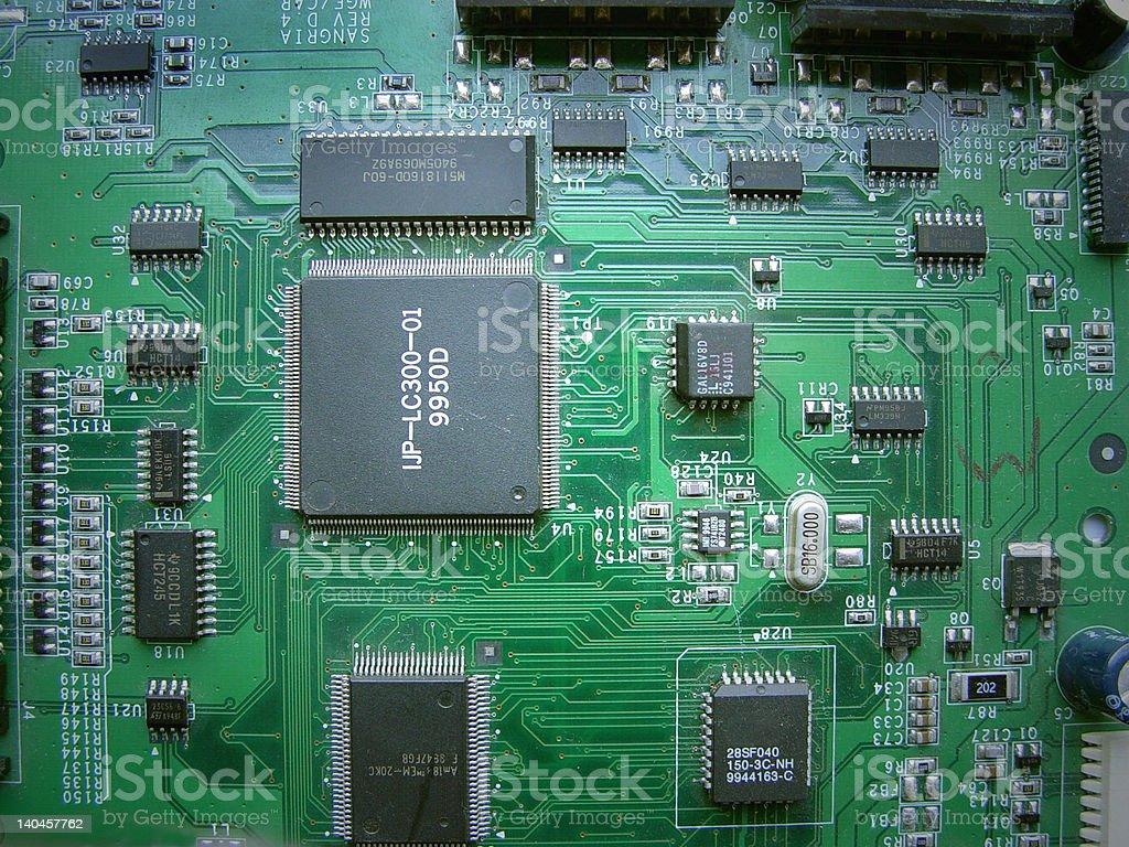Circuit royalty-free stock photo