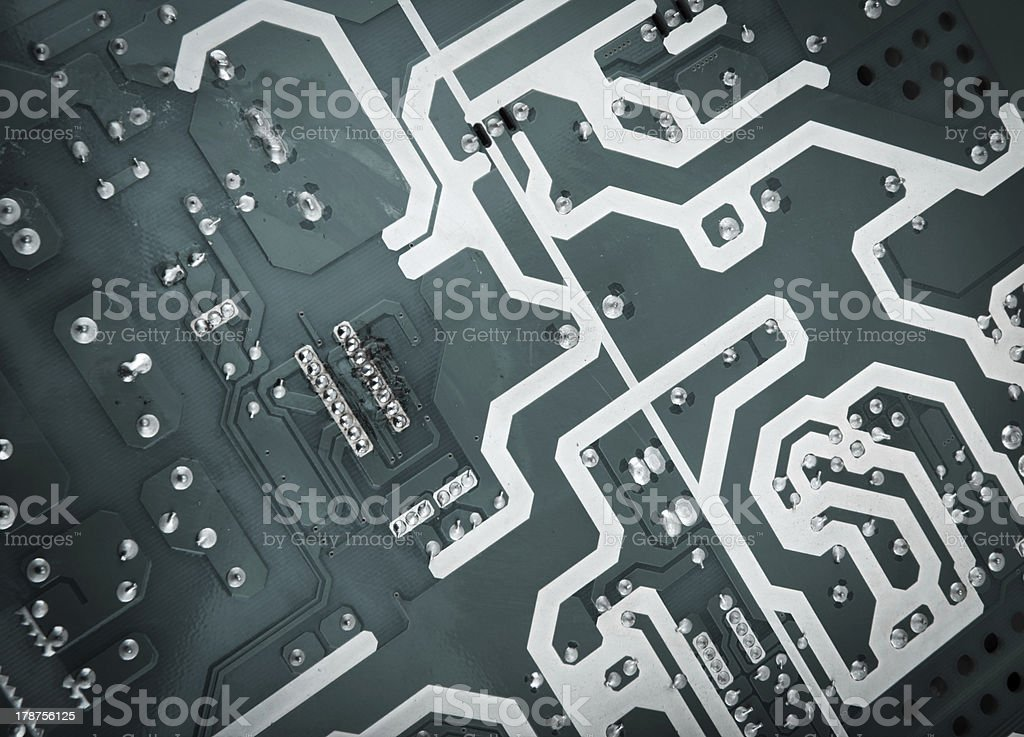 Circuit royalty-free stock photo
