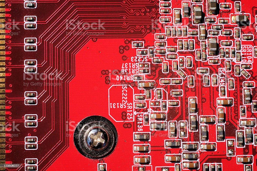 circuit-board stock photo