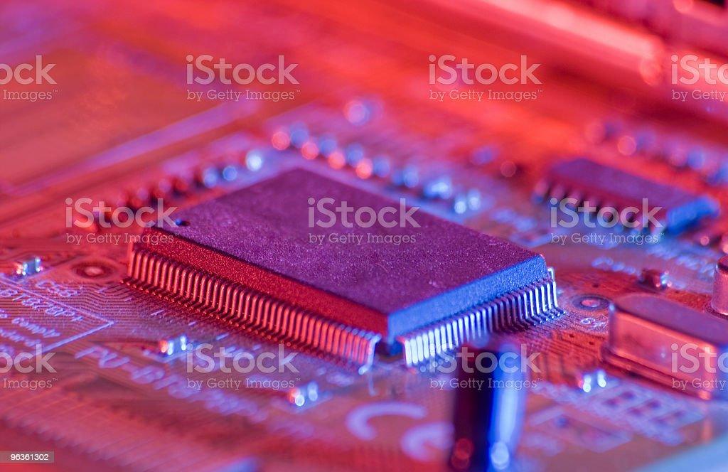 Circuitry royalty-free stock photo