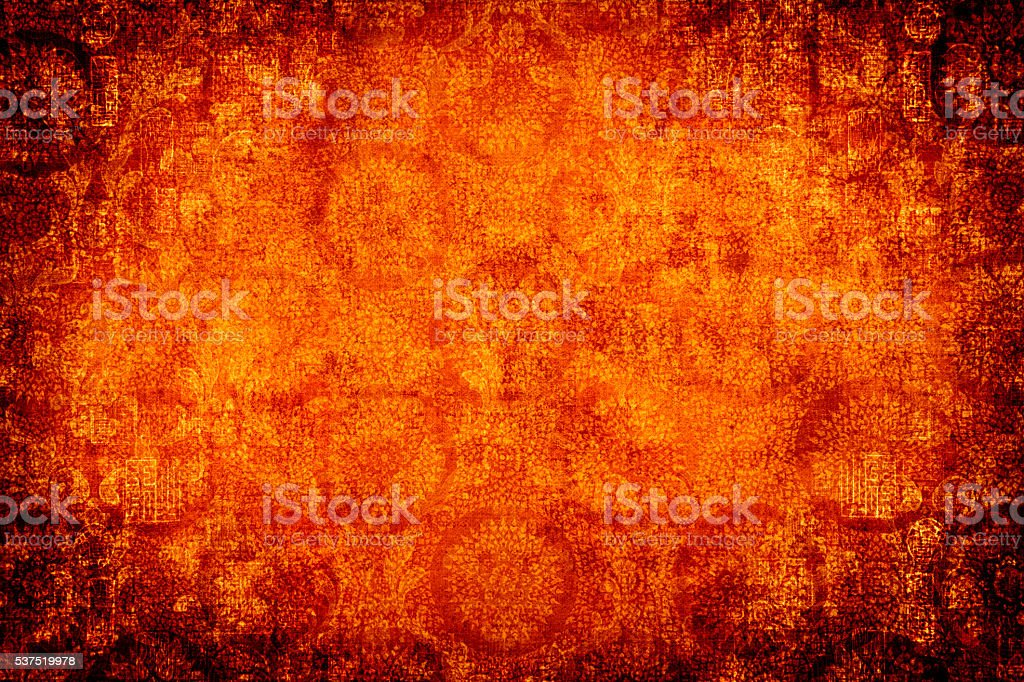 Circular Asian Abtract Background stock photo