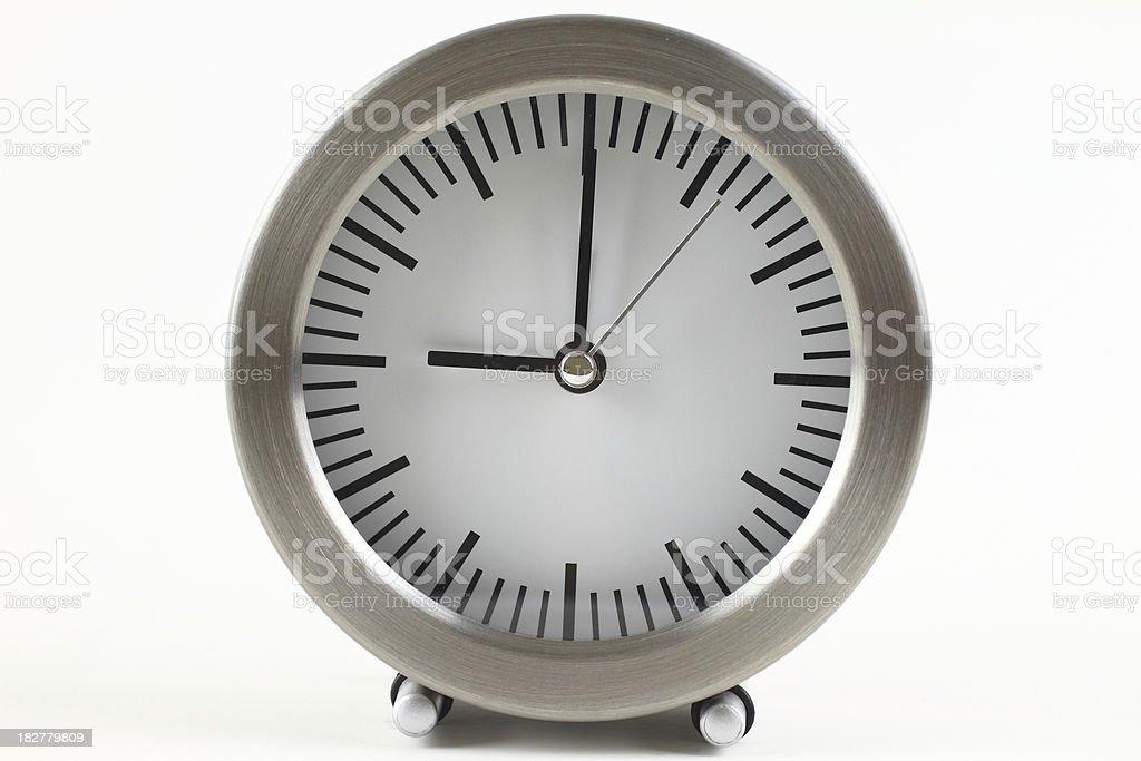 Circular Clock stock photo