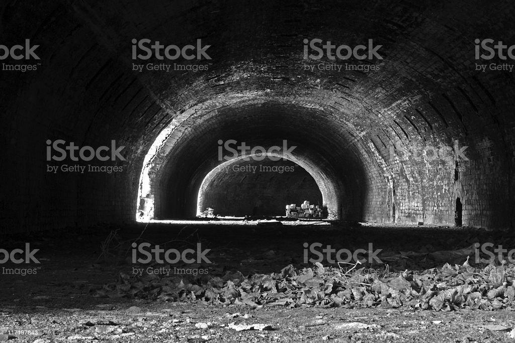 Circular kiln stock photo