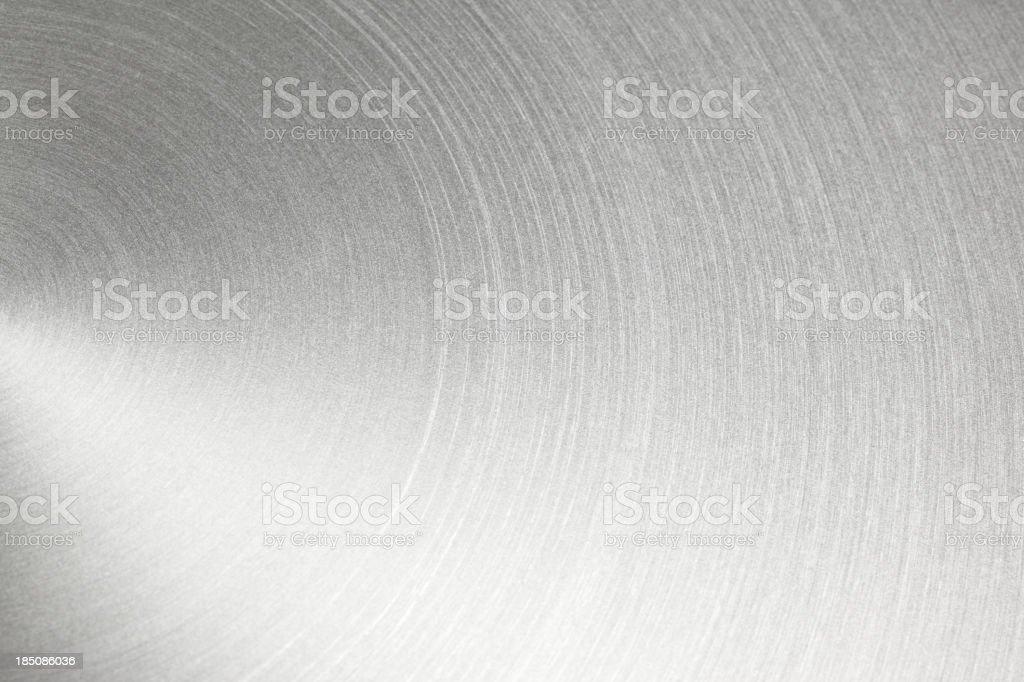 Circular Metal Brushed Texture royalty-free stock photo